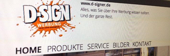 Homepage-Header www.d-signer.de